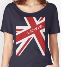 Lewis Hamilton - Union Jack Women's Relaxed Fit T-Shirt
