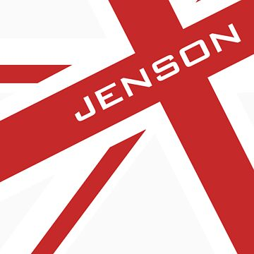 Jenson Button - Union Jack by RetroLink