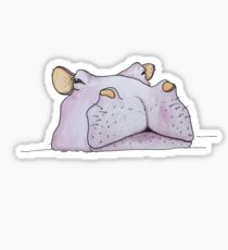 Wants To Know If You're Actually Serious Hippo Sticker