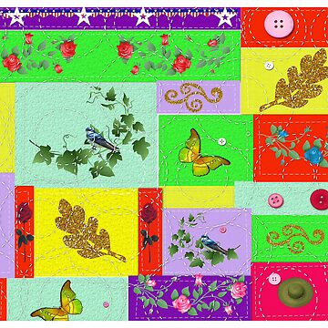 Country Quilting by ArtChances