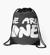 EXO - We Are One! (White Font) Drawstring Bag