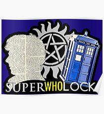 SuperWhoLock - Crossover MegaVerse Poster
