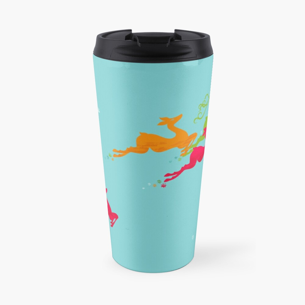 Winer Deer Travel Mug