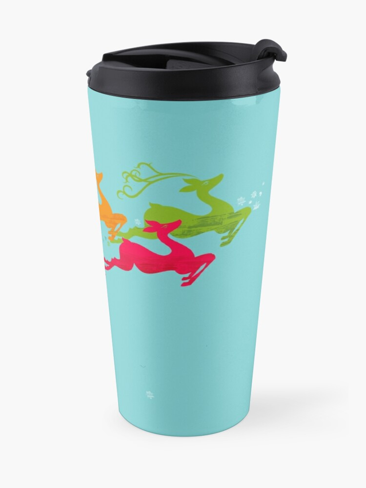 Alternate view of Winer Deer Travel Mug