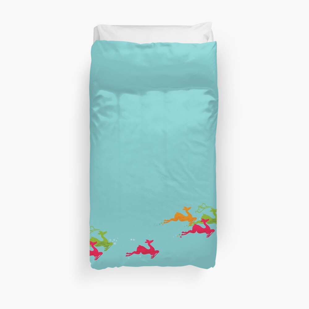 Winer Deer Duvet Cover