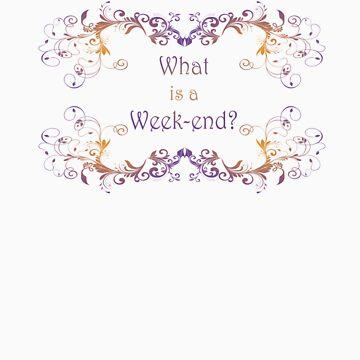 What is a Week-end? or is it Weekend?  by frogcreek