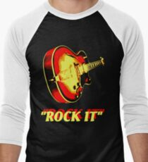 rock t-shirt Men's Baseball ¾ T-Shirt