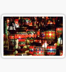 Lanterns in the Grand Bazaar Sticker