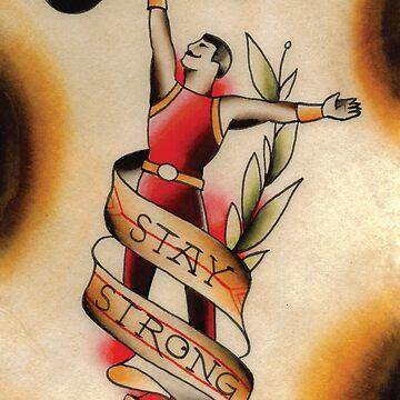 Stay Strong by NateLuna