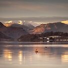 A Cold Morning On Ullswater by Brian Kerr