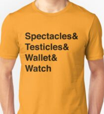 Spectacles & Testicles... T-Shirt