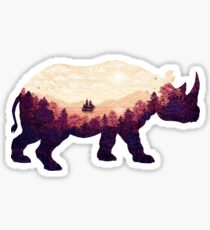 Rhinoscape Sticker
