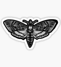 Deaths Head Moth - Silence of the Lambs Sticker