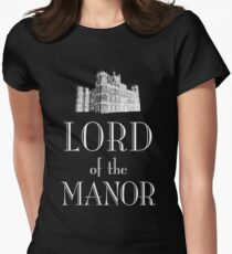 Lord of the Manor (white) Women's Fitted T-Shirt