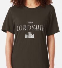 His Lordship (white) Slim Fit T-Shirt