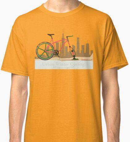 Urban Winter Cycling Classic T-Shirt