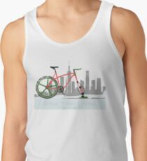 Urban Winter Cycling Tank Top