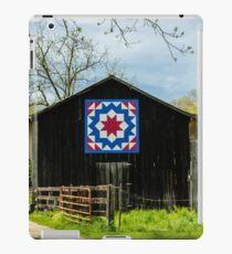 Kentucky Barn Quilt - Carpenters Wheel iPad Case/Skin