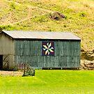Kentucky Barn Quilt - Americana Star by Mary Carol Story