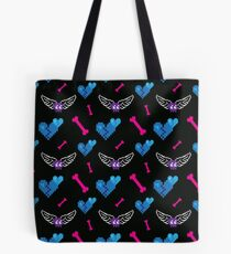 8-Bit Tokens (Game Over ver.) Tote Bag