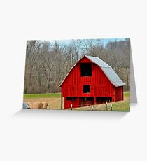 Another Red Barn 3 Greeting Card
