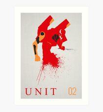 Unit 02 Art Print