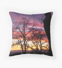 The Earth is Your Canvas Throw Pillow