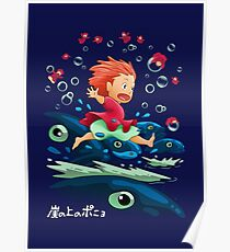 Goldfish by the Sea Poster