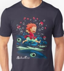Goldfish by the Sea Unisex T-Shirt