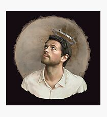 Castiel. White Photographic Print