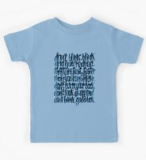 Weeping Angels Kids Clothes