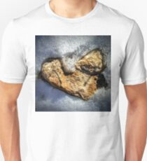 Sandstone Heart in Snow T-Shirt