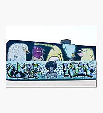 Abstract Graffiti Wall Photographic Print