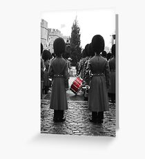 Guards - Windsor, England Greeting Card