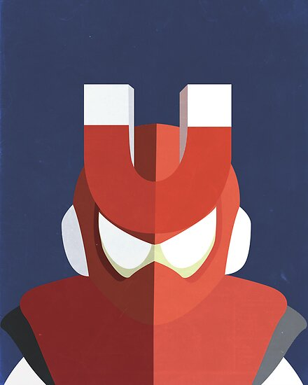 Magnet Man by Simon Alenius