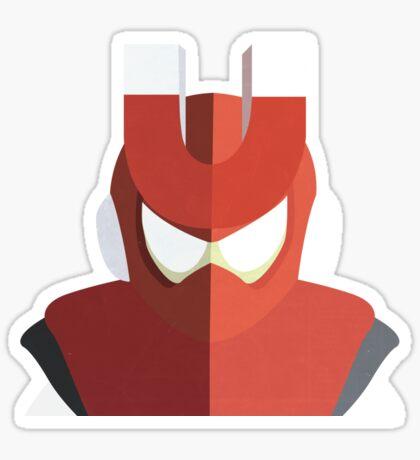 Magnet Man Sticker