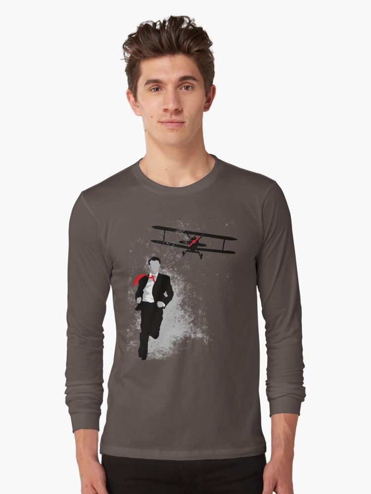 Map and Compass Long Sleeve T-Shirt Front