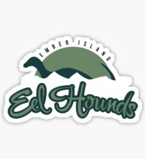 Ember Island Eel Hounds Sticker