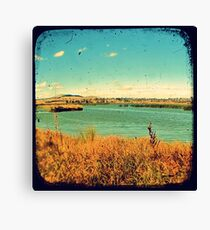 Dangars Lagoon Through The Viewfinder (TTV) Canvas Print