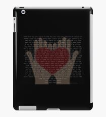 Over And Over Again (Nathan Sykes) iPad Case/Skin