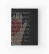 Over And Over Again (Nathan Sykes) Hardcover Journal