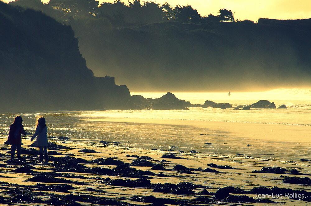 Golden Beach. by Jean-Luc Rollier
