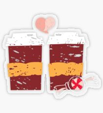 Coffee for Two Transparent Sticker