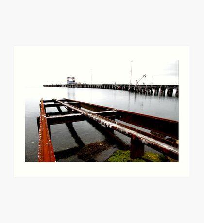 Kingscote Dock Art Print