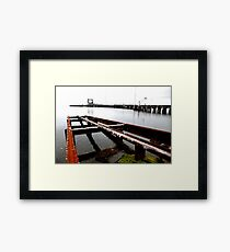 Kingscote Dock Framed Print