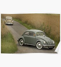 Classic Beetle Poster