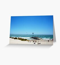 Windsurfer At City Beach 08 12 12 Greeting Card
