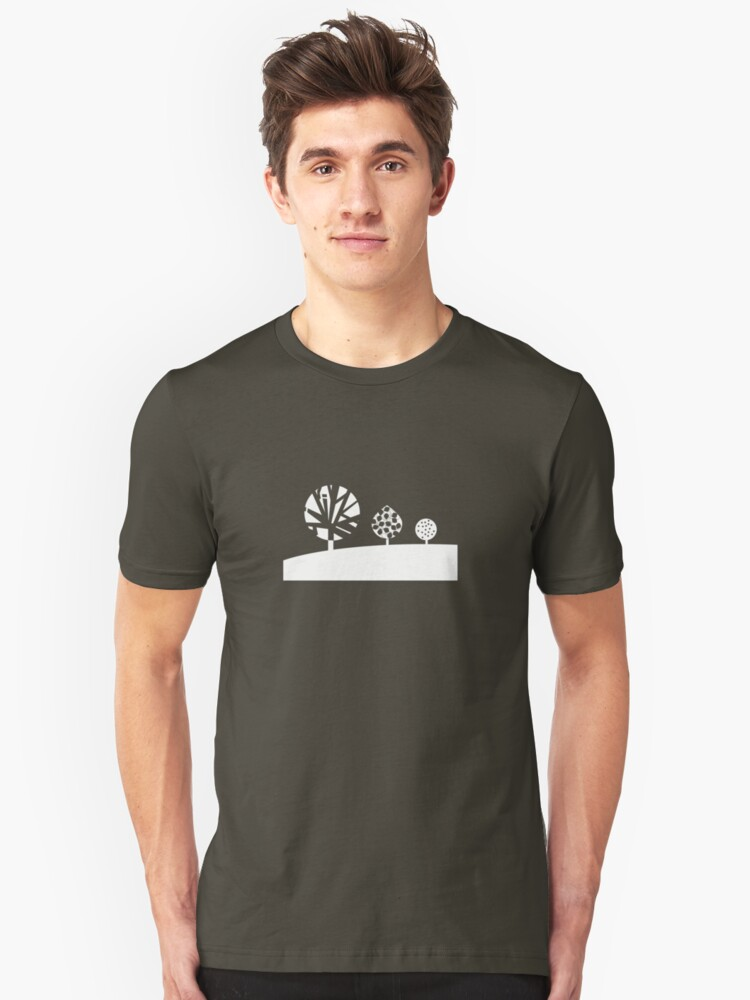 Three White Trees - Graphic T Shirt Unisex T-Shirt Front