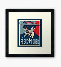 HST- Freak Power Framed Print