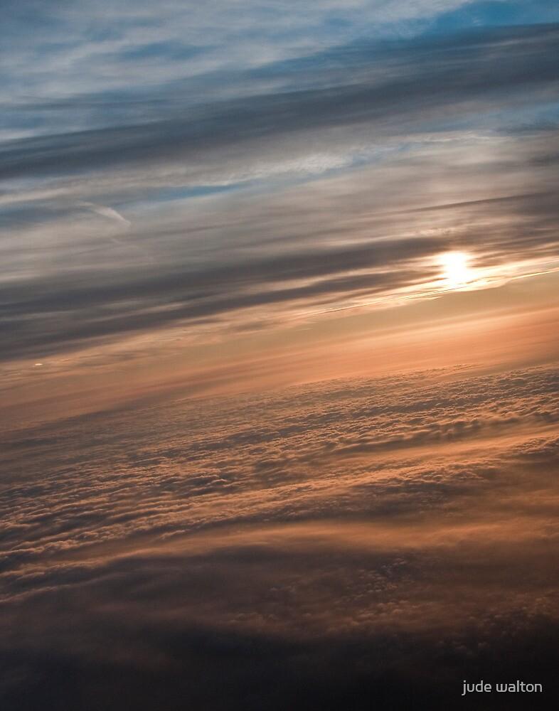 Dawn over Ireland by jude walton